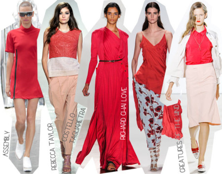 Semana de la Moda de Nueva York Primavera Verano 2014 Tendencias Cereza
