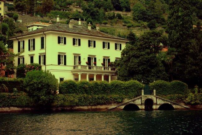 George Clooney Villa Oleandra
