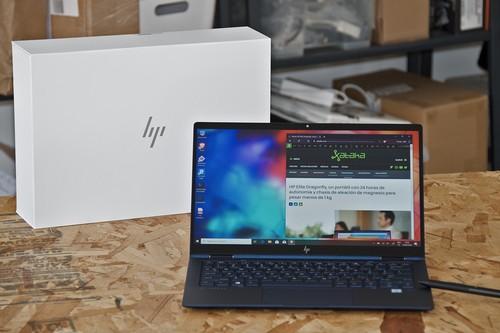 HP Elite DragonFly, análisis: impecable diseño y autonomía en menos de un kilo de peso