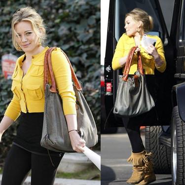 Hilary Duff y su bolso de Muxo