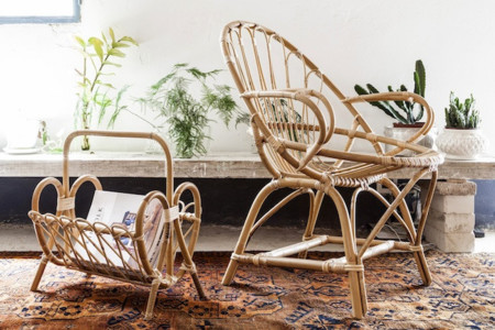 Tiretta Living, muebles de caña de toda la vida