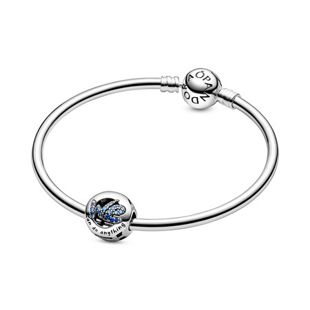 Pandora Pulsera Pandora Rigida En Plata De Ley 59eur Charm We Can Do Anything 49eur