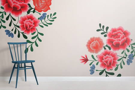 Frida Kahlo Cream Chair Shot Web