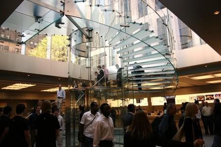 ¿Cuánto pagarías por un cristal roto de la Apple Store de la Quinta Avenida?