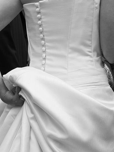 bustier novia
