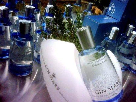 Gin mare con romero