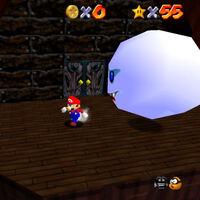 Super Mario 64: cómo conseguir la estrella Big Boo's Balcony de Big Boo's Haunt