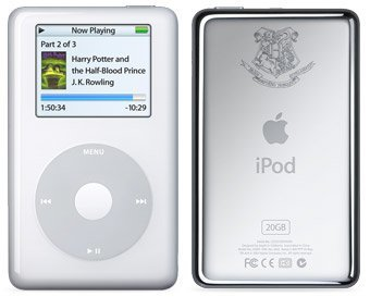 iPod Harry Potter, al estilo U2