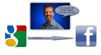 Lars Rasmussen parece que dará el salto de Google a Facebook