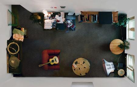 """""""Room portraits"""", habitaciones retratadas desde un nuevo ángulo por Menno Aden"""