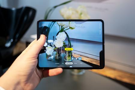 Samsung Galaxy Fold Abierto Camara