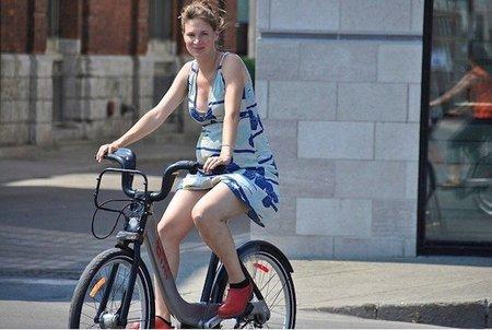 Montar en bicicleta durante el embarazo