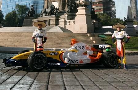 México quiere un Gran Premio de Fórmula 1 para 2010