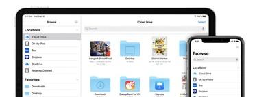 La app Archivos de iPadOS 15 recibe varias novedades: barra de progreso, lectura de almacenamientos en NTFS y más