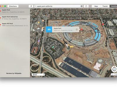 Ya puedes ver el Apple Park en Flyover desde Apple Maps