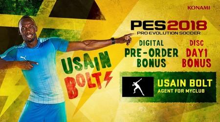 Pes 2018 Usain Bolt
