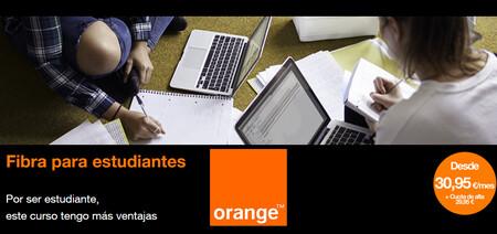 Orange baja los precios de sus planes de fibra + fijo para estudiantes: desde 30,95 euros al mes y sin permanencia