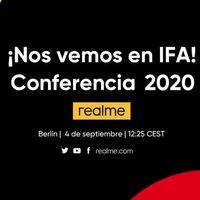 Realme en IFA 2020: sigue la presentación de hoy en directo y en vídeo con nosotros