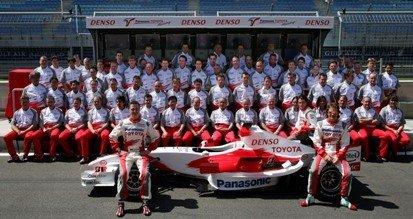 Foto oficial Toyota F1
