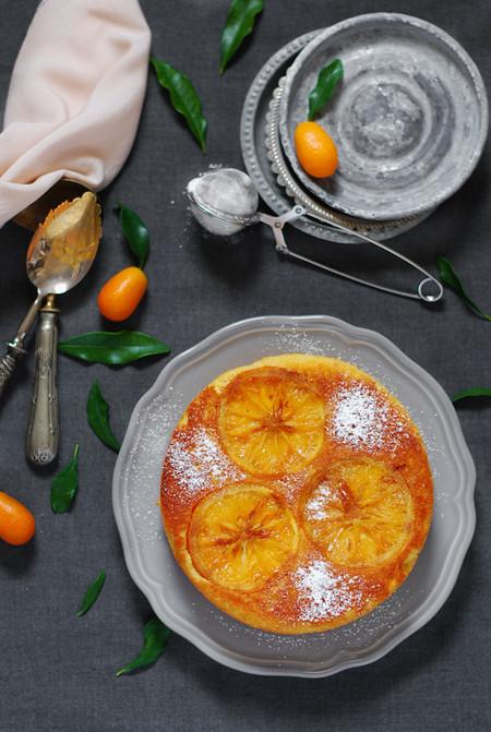Orange Almond Gluten Free Cake Bizcocho Almendra Naranja Sin Gluten Dulces Bocados