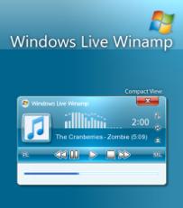 Skin para Winamp con el look de Windows Live