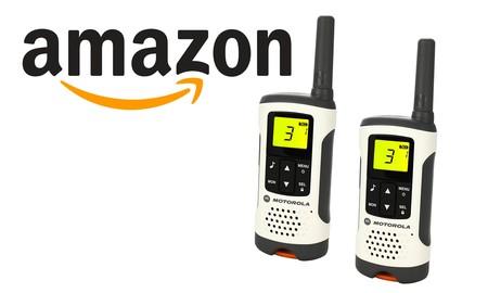Walkie talkies de Motorola rebajados en Amazon: nunca pierdas el contacto con tus compañeros de aventura