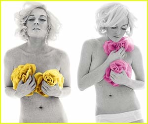 Lindsay Lohan se desnuda para New York Magazine como Marilyn Monroe