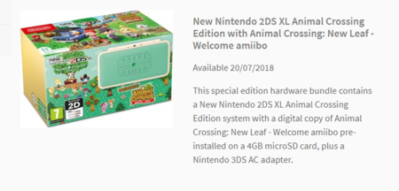 New Nintendo 2ds Xl Animal Crossing