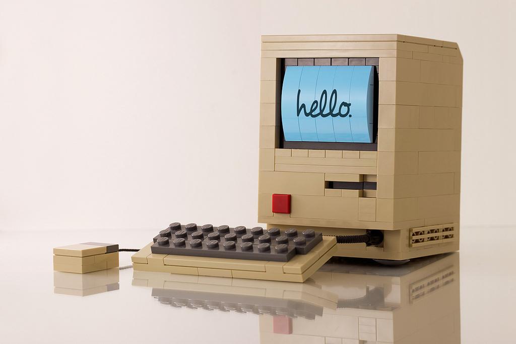 Foto de Modelos Lego de tecnología retro (5/8)