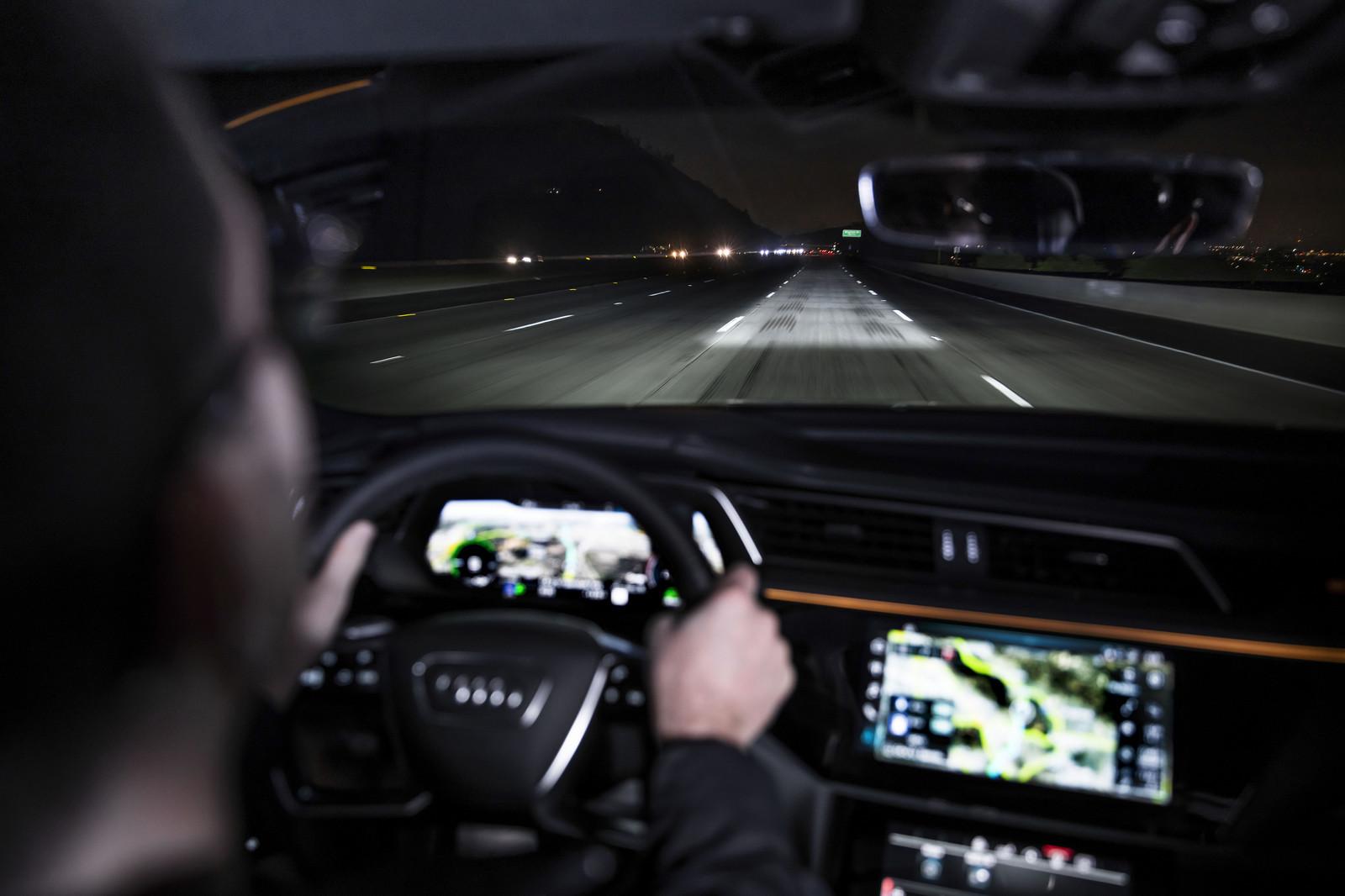 Audi e-tron Sportback Matrix LED Digital