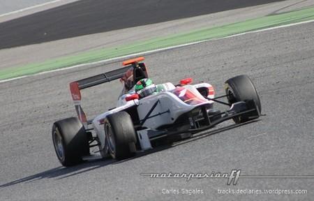 Conor Daly marca el mejor tiempo en el primer día de pruebas de la GP3