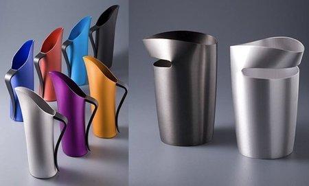 jarras de aluminio de colores
