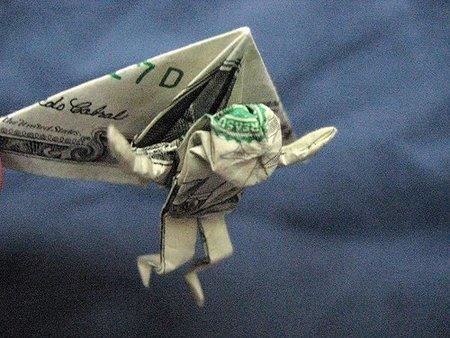 Origami parapente
