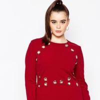 Vestido Rojo Talal Grande