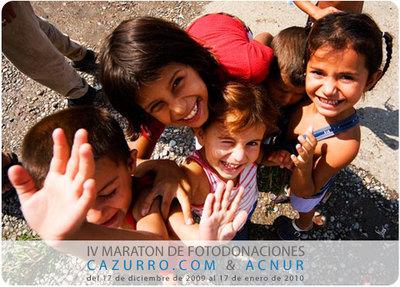 IV Maratón de Fotodonaciones Cazurro.com & ACNUR