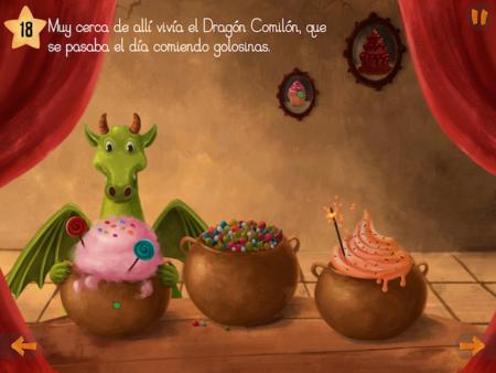 Senda y el dragón comilon