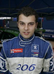 Óscar Garre, el elegido por Peugeot Sport España