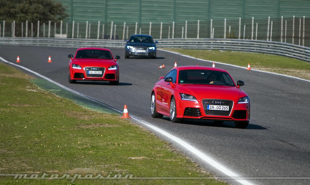 Audi Gama S Y Tt Rs Plus Presentaci 243 N Y Prueba En El