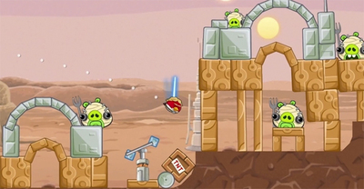 Primer vídeo con gameplay de 'Angry Birds Star Wars'