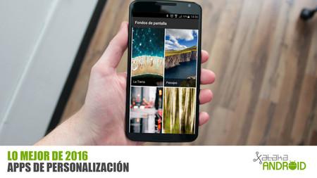 Las mejores apps de personalización para Android de 2016