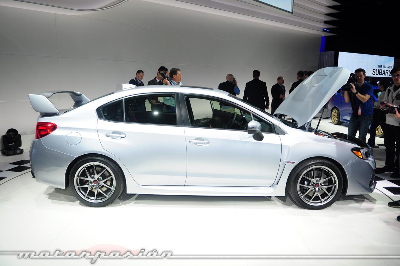 Subaru WRX STI 2014 (Salón de Detroit)