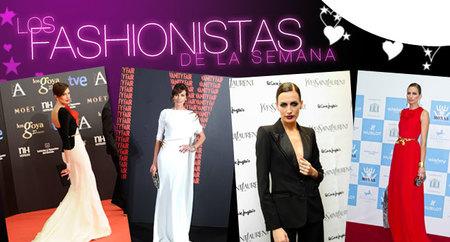 Los fashionistas de la semana: Nieves Álvarez, bellísima allá donde va