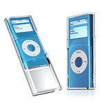 Funda slide transparente para el iPod Nano 2G