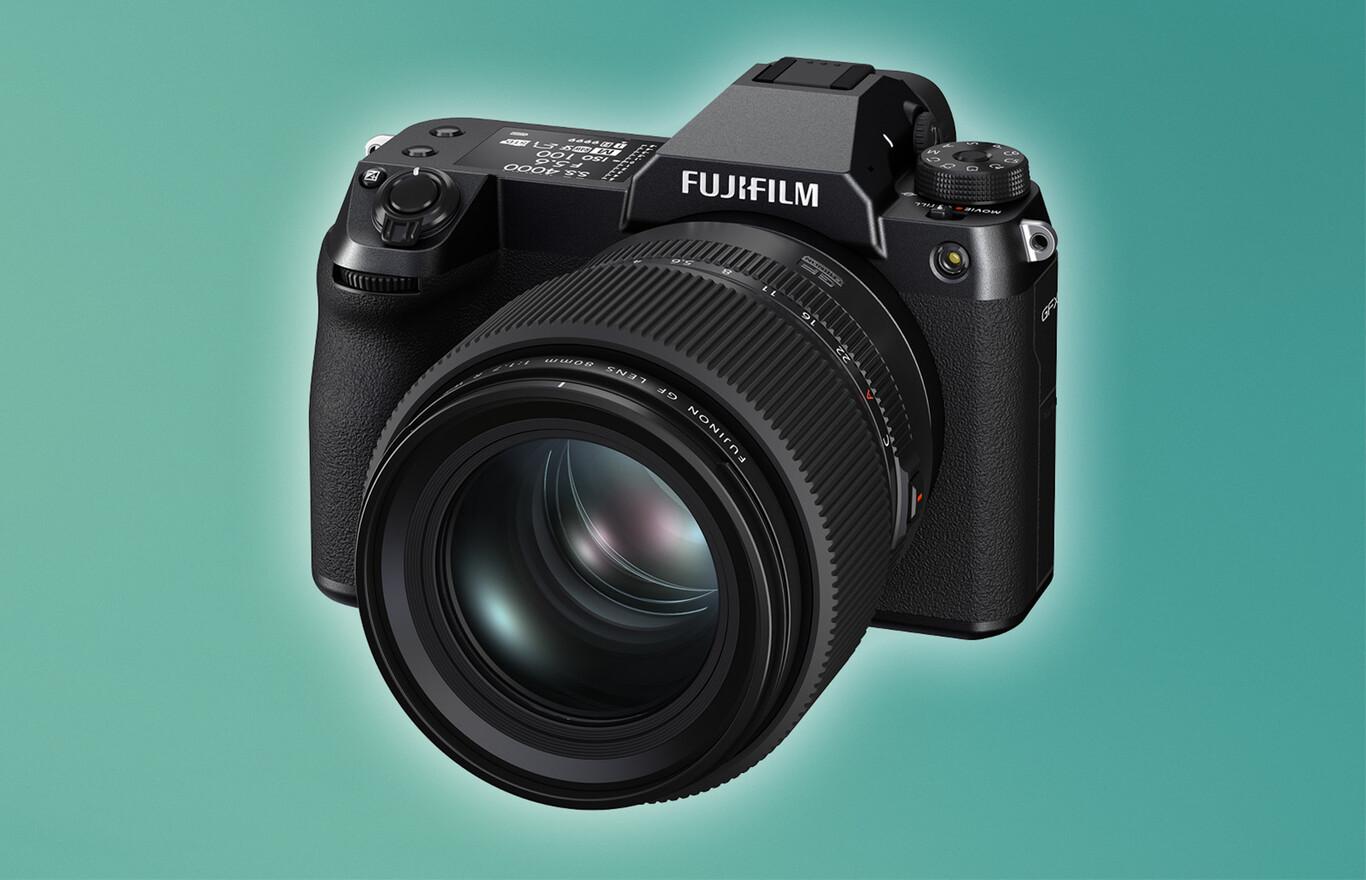 Fujifilm GFX100S y Fujinon GF80mm F1.7 R WR, nueva cámara de tamaño portátil y 100 MP y óptica luminosa para el sistema de gran formato GFX