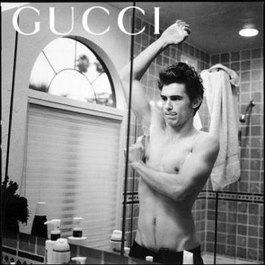 James Franco para Gucci