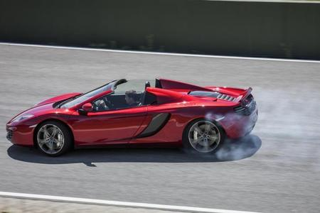 McLaren MP4-12C Spider, por fin lo vemos en acción