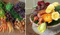 Hazlo tú mismo: un centro de mesa con hortalizas