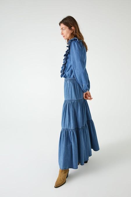 falda vaquera larga