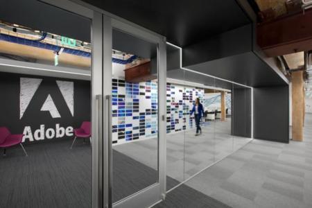 Las nuevas oficinas de Adobe en San Francisco no necesitan ni un retoque en Photoshop