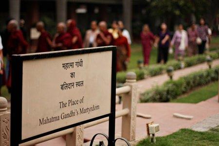 India: Visita a la casa donde mataron a Gandhi en Nueva Delhi